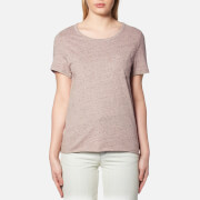 A.P.C. Women's Lauren T Shirt Beige Rose