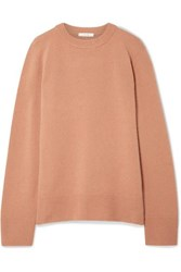 The Row Sibina Wool And Cashmere Blend Sweater Antique Rose