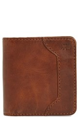 Frye Women's Melissa Small Bifold Wallet Brown Cognac