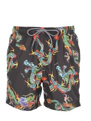 Mc2 Saint Barth Special Ed. Lighting Dragon Swim Shorts