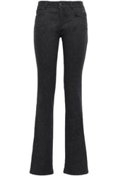 Tom Ford Woman Mid Rise Bootcut Jeans Black