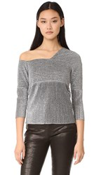 Won Hundred Verona On Shoulder Sweater Silver