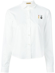 Peter Jensen Peter Pan Collar Shirt White