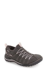Jambu Women's 'Spirit' Sneaker Charcoal Faux Leather