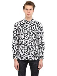 Golden Goose Writer Printed Cotton Shirt