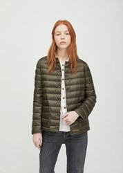 Aspesi Nylon Puffer Jacket Green