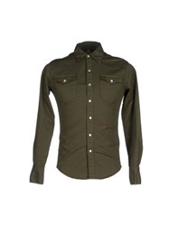 People Shirts Shirts Men Military Green