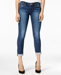 Articles Of Society Karen Cuffed Skinny Jeans Dark Blue