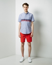 Band Of Outsiders Touring Shorts Red