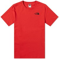 The North Face Simple Dome Tee Red