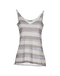 Soho De Luxe Topwear Vests Women Grey