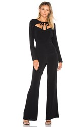 For Love And Lemons X Revolve Wide Leg Jumpsuit Black
