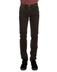 Givenchy Copper Stud Slim Fit Faded Jeans Black