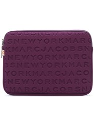 Marc Jacobs Logo Tablet Case Polyester Pink Purple