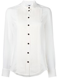 Moschino Pintuck Shirt White