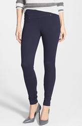 Jag Jeans 'Ricki' Ponte Skinny Pants Regular And Petite Navy