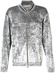 Emiliano Rinaldi Reflective Track Jacket Grey