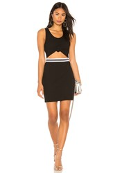 Kendall Kylie Cut Out Dress Black