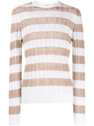 Eleventy Cable Knit Jumper 60