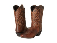 Laredo Breakout Rust Distressed Cowboy Boots Orange