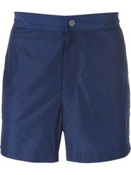 Michael Kors Pin Dot Swim Shorts Blue