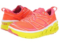Hoka One One Conquest 2 Neon Coral Citrus Women's Running Shoes Orange