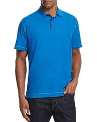 Robert Graham Stellar Classic Fit Polo Shirt 100 Bloomingdale's Exclusive Heather Marine