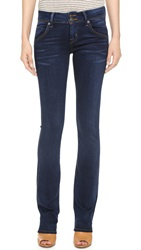 Hudson Mid Rise Beth Baby Boot Cut Jeans Oracle