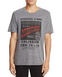 Junk Food Oddities Crewneck Short Sleeve Tee 100 Exclusive Heather Gray