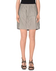 Drkshdw By Rick Owens Skirts Mini Skirts Women Grey