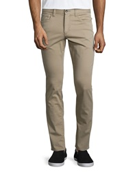 Vince Essential Five Pocket Stretch Twill Pants Khaki