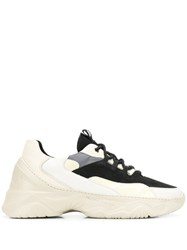 Filling Pieces Chunky Lace Up Sneakers Black