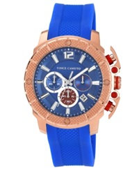 Vince Camuto Watch Men's Blue Silicone Strap 49Mm Vc 1019Blrg