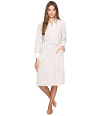 N By Natori Brushed Terry Nirvana Robe Amaretto Women's Robe Brown