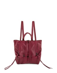 Kooba Bobbi Mini Leather Backpack Raspberry