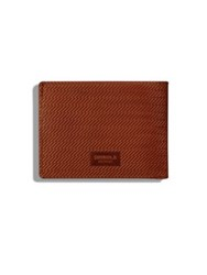 Shinola Slim Bifold 2.0 Leather Wallet Black Bourbon
