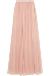 Needle And Thread Tulle Maxi Skirt Antique Rose