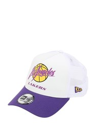 New Era Nba Neoprene Mesh Baseball Hat White