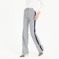 J.Crew Collection Tuxedo Pant In Italian Wool Flannel