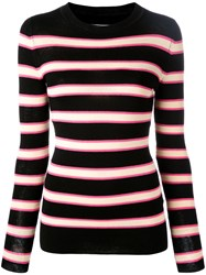 Etoile Isabel Marant Striped Top Black
