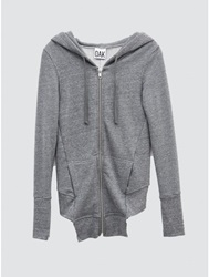 Oak Fencing Hoodie Heather Grey Oak