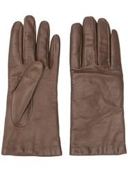 P.A.R.O.S.H. Classic Gloves Brown