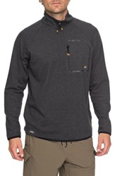 Quiksilver Waterman Collection Technical Sweatshirt Charcoal Heather