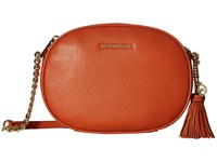 Michael Michael Kors Ginny Medium Messenger Orange Messenger Bags