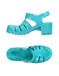 Colors Of California Sandals Turquoise