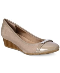 Giani Bernini Ambir Wedges Only At Macy's Women's Shoes Mushroom