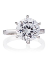 Fantasia Round Cut Solitaire Cz Ring