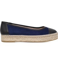 Carvela Lionel Leather Espadrille Blue Drk.C