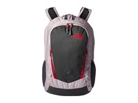 The North Face Women's Vault Quail Grey Heather Cerise Pink Backpack Bags Gray
