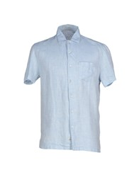 C.P. Company Shirts Shirts Men Sky Blue